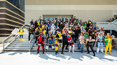 PS_99379 (Patcave) Tags: dragon con dragoncon 2017 dragoncon2017 marvel universe cosplay cosplayer cosplayers costume costumers costumes villains villain group shot shoot comics comic book comicbook xmen mutants deadpool