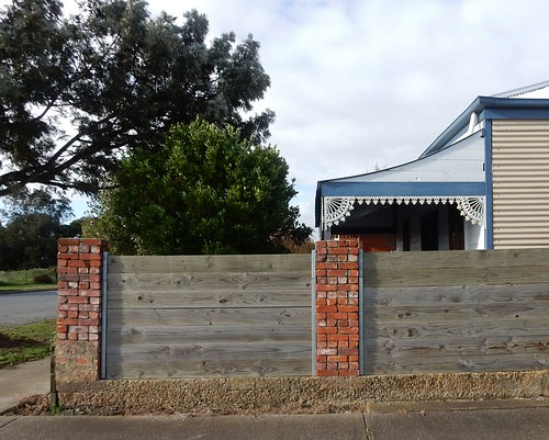 Fence and Front of House