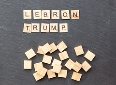 'The people run this country': LeBron James doesn't regret calling Trump a 'bum' (marcoverch) Tags: noperson keineperson business geschäft text paper papier desktop sign schild cube würfel display anzeigen finance finanzen achievement leistung education bildung texture textur wood holz conceptual begrifflich symbol abstract abstrakt shape gestalten alphabet internet solution lösung