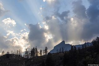 Rays over Rising Sun