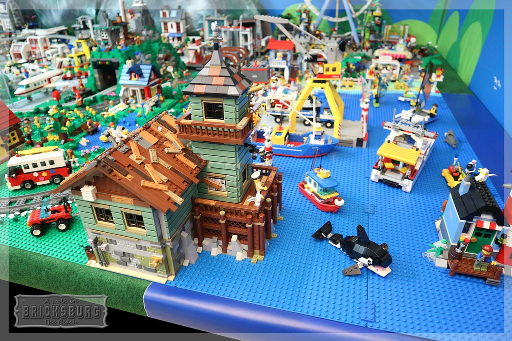 The world 39 s best photos of harbour and lego flickr hive mind for Lego old fishing store