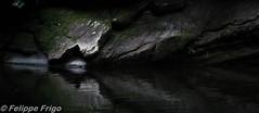 Reflection test (Felippe Frigo) Tags: jeronimo monteiro espirito santo brazil brasil photography nikon trip viagem reflexos reflection waterfall cachoeira agua water pedra stone river rio