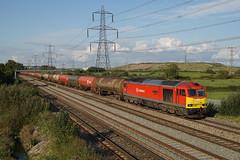 60091 19-09-17 (IanL2) Tags: dbcargo class60 60091 newport southwales railways trains tug brush