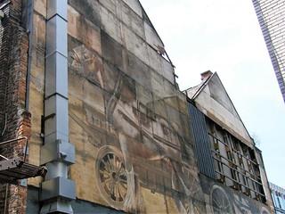 Manchester - PLEASE SEE ALBUM - Manchester, England - Street Art.               VERY OLD STREET ART.