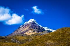 Some beautiful colours surround this glacier.