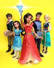 Elena Of Avalor (honeysuckle jasmine) Tags: disney channel princess elena of avalor naomi turner gabe mateo doll barbie dolls latina mexico