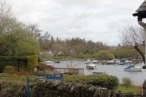 Boat Yard at Balmaha at the Loch Lomond