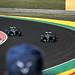 Lewis Hamilton conceding his place to Valtteri Bottas