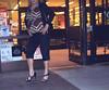 Supermarket Spikes (Blonde Karyn Heels) Tags: crossdress public heels feet toes anklet stiletto capris