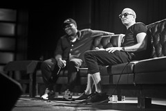 IMG_9882 (Brother Christopher) Tags: blackandwhite monochrome monochromatic explore explored live show liveshow podcast audio audiodocumentary npr gimeltmedia loudspeakersnetwork combatjack reggieosse chrislighty brotherchris hiphop hiphopculture mogul cultre event events talk discussion panel interview