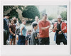 """Alright son, I'll get them ALL down!"" (yarr2d2) Tags: speedgraphic graflex notreally4x5 doxie fujiinstaxwide mitsuwasummerfestival2017 natsumatsuri 夏祭 mitsufest belairinstaxback"