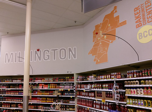 Find Your Way Around Millington Just By Looking At Krogers Bakery Deli Back Wall