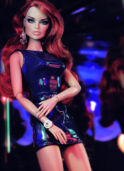 Supermodel Sass (alexbabs1) Tags: fashion royalty fr loves it out sass vanessa perrin doll integrity toys supermodel convention dress versace inspired 90s sexy club aura thottie couture slay bitch yes gawd did she do that would say tbh okay mama werq hehe random af tho wow sarah palins bangs