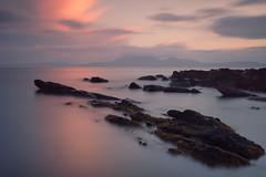 Fading LIght     ( 29 ) (davidballantyne2) Tags: longexposure leefilters bigstopper portencross seascape scotland sunset coast ayrshire fujifilmxt2