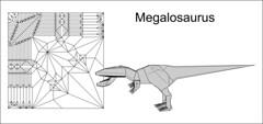 Megalosaurus cp (Mdanger217) Tags: max danger origami megalosaurus cp diagram