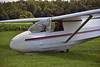 Elizabeth Genetti's glider ride  MAS_8160 (massey_aero) Tags: masseyaerodrome cassonfamilygliderridesaug192017 vintagesailplaneassociation vsaeastcoastsailplanemeet sailplane glider