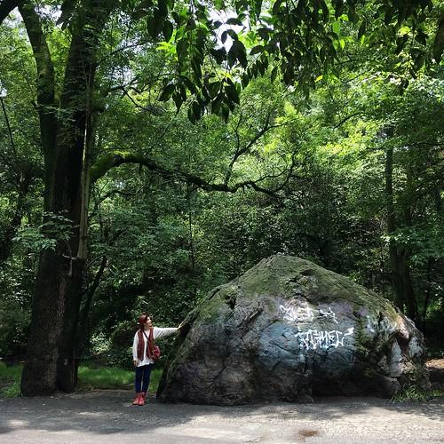 La piedra encantada, Parque Fuentes Brotantes