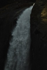 Force of nature.____Top waterfall (viniciusbrendo) Tags: stones life water cold english valzer nofilter littlelight shadows d3200 nikon video amazing physics waterfalls usa  california yosemite park national