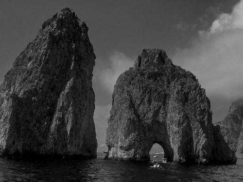 Capri Faraglioni Rock Formations | 170820-2204-jikatu
