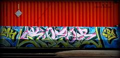 klozer (timetomakethepasta) Tags: klozer freight train graffiti art intermodal style lmk cbs benching selkirk new york photography
