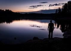 Sunset at Ottensteiner Lake ([AUT]side) Tags: sunset lake ottenstein austria reflexion water canon reflection 5d mkiii 2470 waldviertel