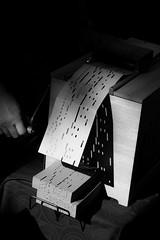 Orgue de Barbarie - Barrel organ (Nicolas Rouffiac) Tags: orgue organ barbarie barrel music musique instrument bw nb musical