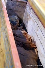 Mummy of Ankhef (konde) Tags: 12thdynasty middlekingdom ankhef asyut ancient ancientegypt coffin sonsofhorus foursonsofhorus mummycoffin mummy britishmuseum