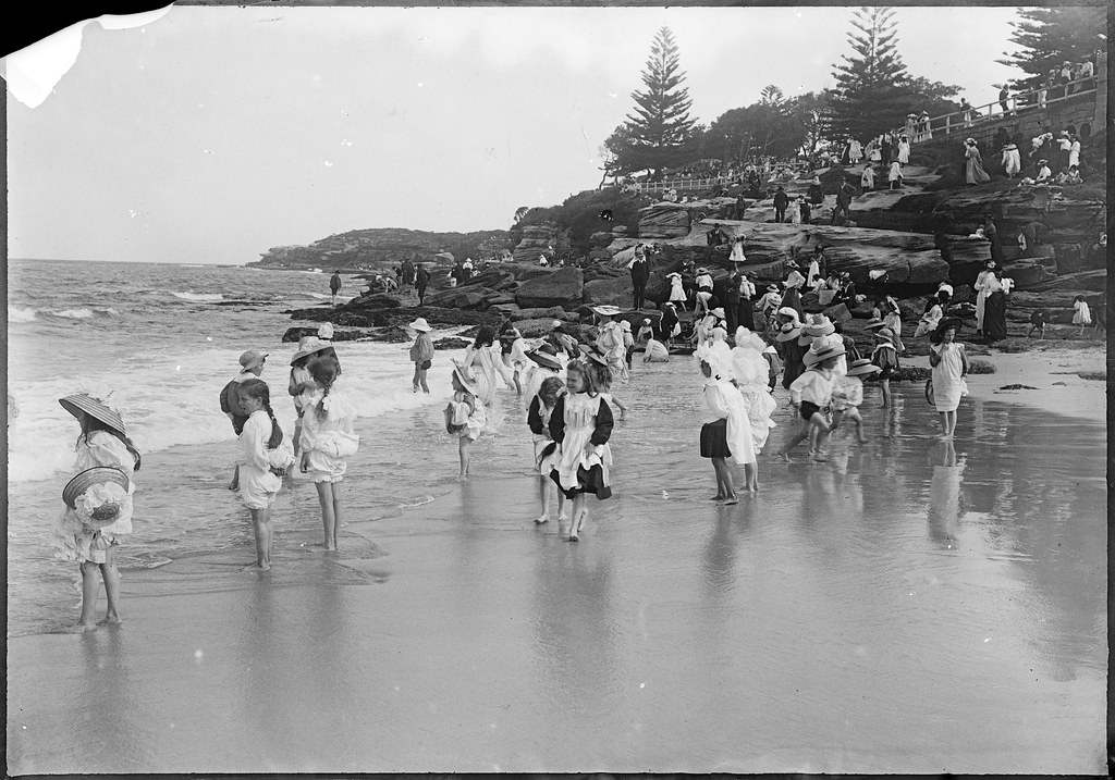 Glass negatives of Sydney regions, including Clovelly, Coogee, and Manly, ca 1890-1910, by William Joseph Macpherson