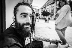 """#171 """"What the hell are you doing on this planet?"""" (Hendrik Lohmann) Tags: street streetphotography streetportrait portrait people whatthehell hendriklohmann duesseldorf nikondf wideangle project"""