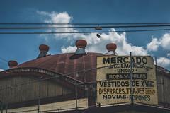 Mercado de la Lagunilla, Ciudad de Mexico (Piotr_PopUp) Tags: lagunilla mexico mexicocity ciudaddemexico market mercado building buildings architecture roof minimal absurd city cityscape urban latinamerica cdmx
