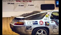 Porsche 928 GT (1989) (Laurent DUCHENE) Tags: retromobile 2017 porsche 928 gt