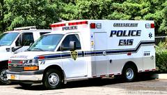 Greenburgh Police EMS Ambulance 73 (Seth Granville) Tags: greenburgh police ems ambulance 73 2107 chevrolet g4500 braun express als bls emt paramedic truck bus