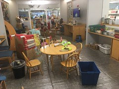 Preschool STEAM Lab: Drive In (curtislibrary) Tags: preschooldrivein collab collaboratory