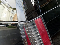 A15259 / escalade reflects (janeland) Tags: sanfrancisco california 94112 november 2016 abstract reflections car taillight cadillac escalade automobile vehicle levels pe016