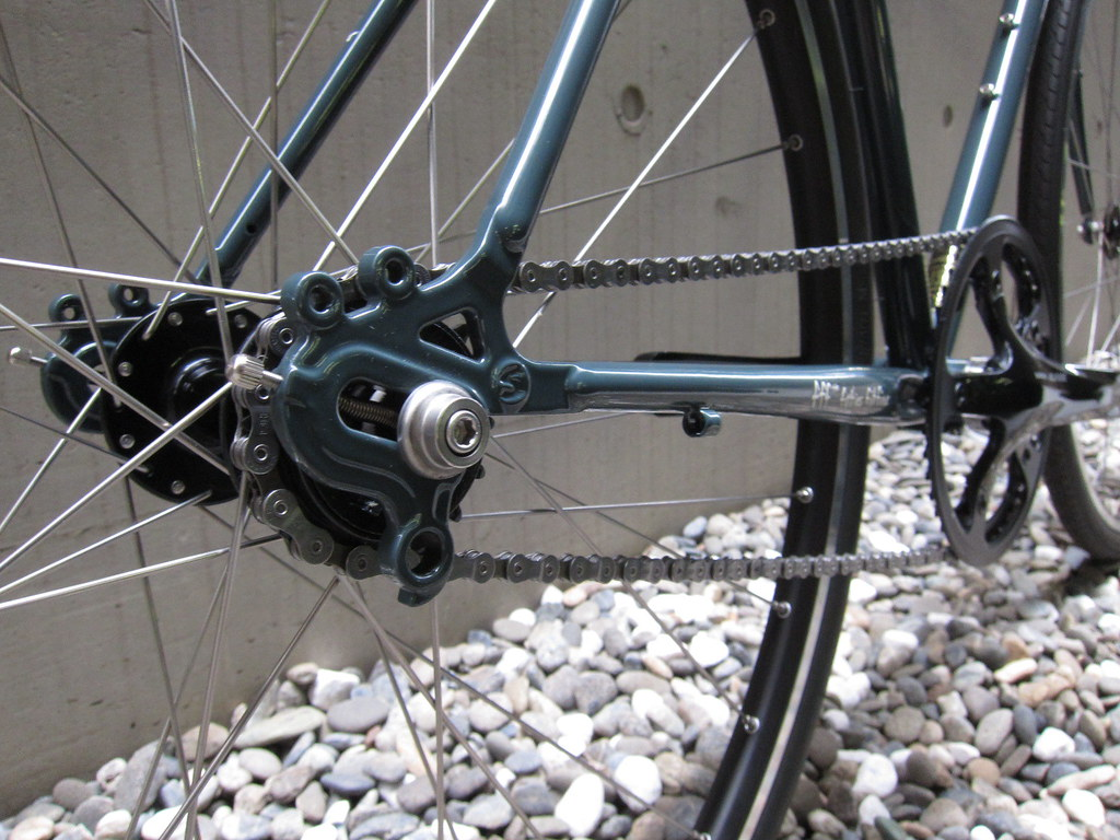 SURLY Cross Check SS GRY Rear