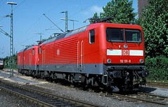 112 131  Dortmund  20.06.01 (w. + h. brutzer) Tags: dortmund eisenbahn eisenbahnen train trains deutschland germany elok eloks railway lokomotive locomotive zug db dr 112 webru analog nikon