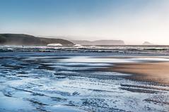 Xagó (ccc.39) Tags: asturias españa cantábrico xagó gozón olas viento charcos mar espuma costa sand water coast atardecer susnset sea seascape