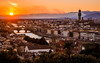 Florencia (julia.echeverria) Tags: florence florencia sunset landscape piazzale michelangelo firenze