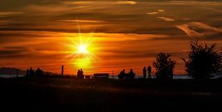 Sunset :  A photographer's canvas