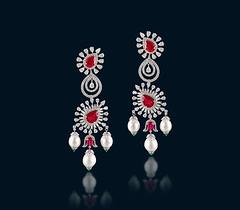 Ruby-Diamond-Earrings (HD wallpaper (Best HD Wallpaper)) Tags: jewellary design