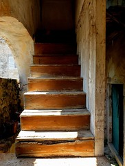 Abandoned (maybrittballo) Tags: abandoned steps house cavtat kroatia