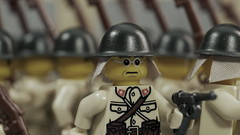 Lego Japanese Soldiers Marching (Force Movies Productions) Tags: wwii war weapons world wars eastern lego helmet helmets gear second legophotograghy rifles rifle toy toys trooper troops troopers troop youtube ii minfig picture officer soldier pose conflict movie cool soldiers photo photograpgh photograph animation army asia asian stopmotion scene sinojapanese film frame firearms guns gun history japanese japan china custom brickarms bricks brickfilm brickmania brickizimo brick nation minifig military minifigure minifigs moc marching march art arts