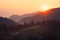 Sunrise (Dejan Hudoletnjak) Tags: sunrise slovenia morning landscape country countryside life live quote