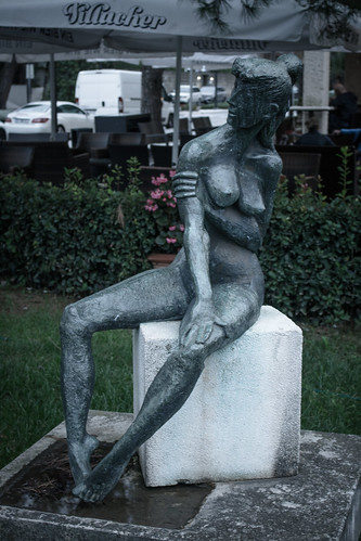 I don't think the sculptor has seen a woman...