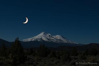 Solar Eclipse - Mt. Shasta