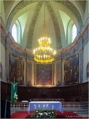 Chœur de la Collégiale Notre Dame et St Nicolas à Briançon