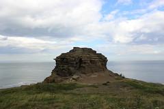 old nab (kokoschka's doll) Tags: tower crag coast northsea northyorkshire