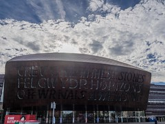 The Millennium Centre Cardiff Bay 2017 08 11 #5 (Gareth Lovering Photography 5,000,061) Tags: millennium centre cardiff bay theatre roald dahl olympus omdem10ii 14150mm garethloveringphotography