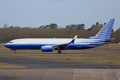 N737M Boeing B737-8EQ Stansted 04th March 2017 (michael_hibbins) Tags:
