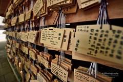 Hanged wishes at Meiji shrine (Ormastudios) Tags: wish temple meiji japan